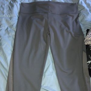 Fabletics Grey Mesh Legging